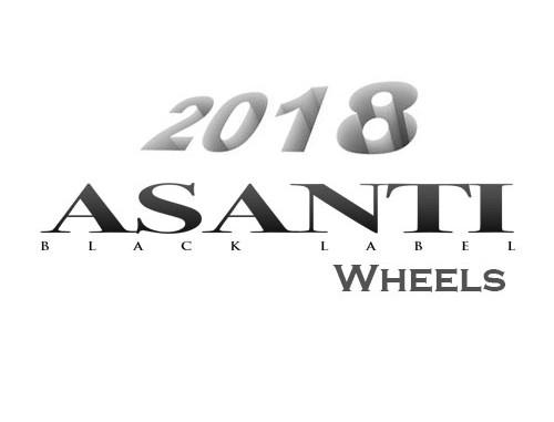 New 2018 Asanti Black Label Wheels