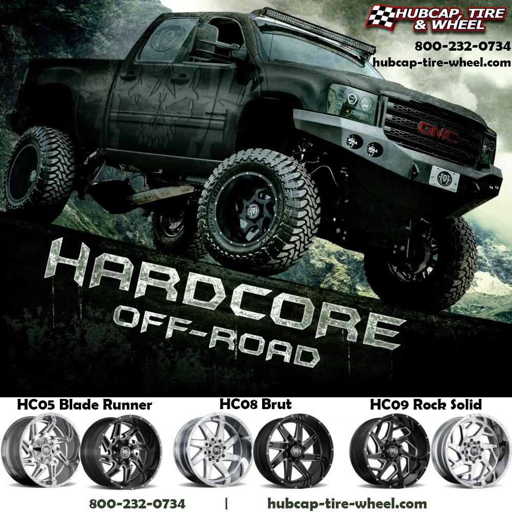 Hardcore Offroad Wheels Rims